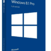 Microsoft Windows 8.1 PRO Professional 32/64 LICENSE KEY Download