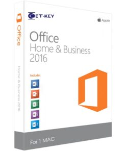 Office 2016 Home &Business for MAC GetKey
